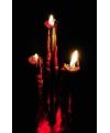 Horror bloed kaarsen 26 cm
