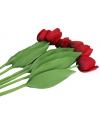 Natural touch tulpen bos rood