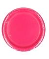 Fuchsia roze feest bordjes 8 stuks