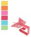 Vier tafelkleedklemmen vlinders