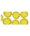 Mozaiek stenen geel rond