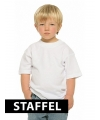 Bulk prijzen witte kinder t-shirts