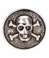 Piraat chunk met doodshoofd 1,8 cm