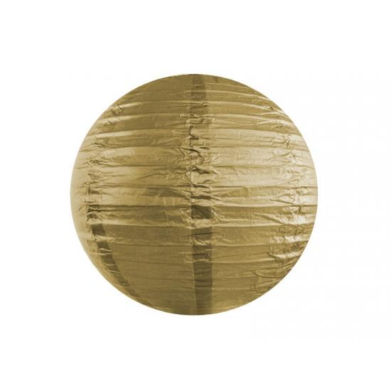 Bol lampion goud 35 cm   Hobbymax   de online hobby winkel